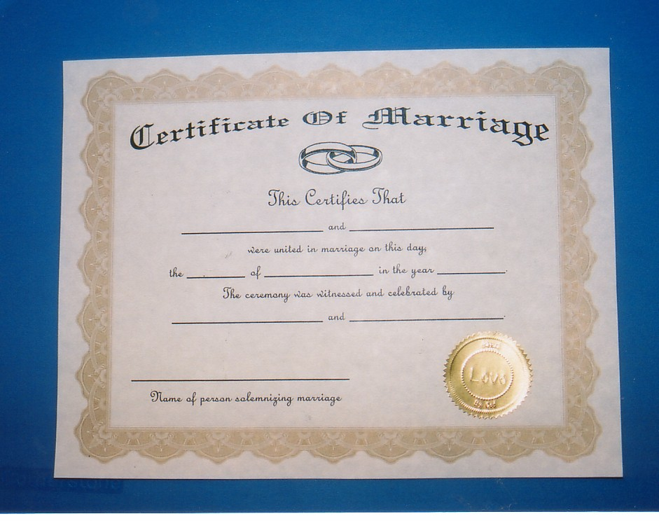 Marriage - Cuyahoga County Probate Court